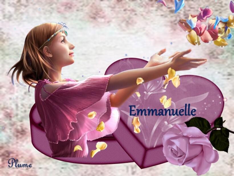 La belle Emmanuelle