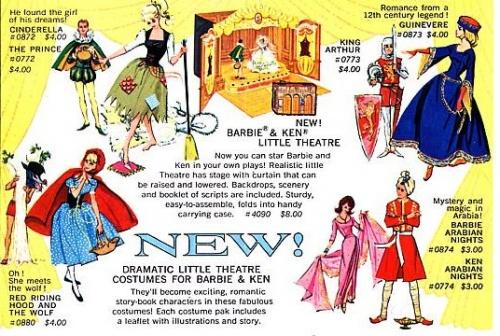 Barbie fait du Théâtre