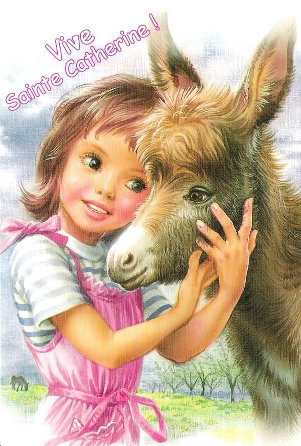 carte de ste catherine Aveu N°46 : J'avoue, Sainte Catherine n'est pas celle que vous