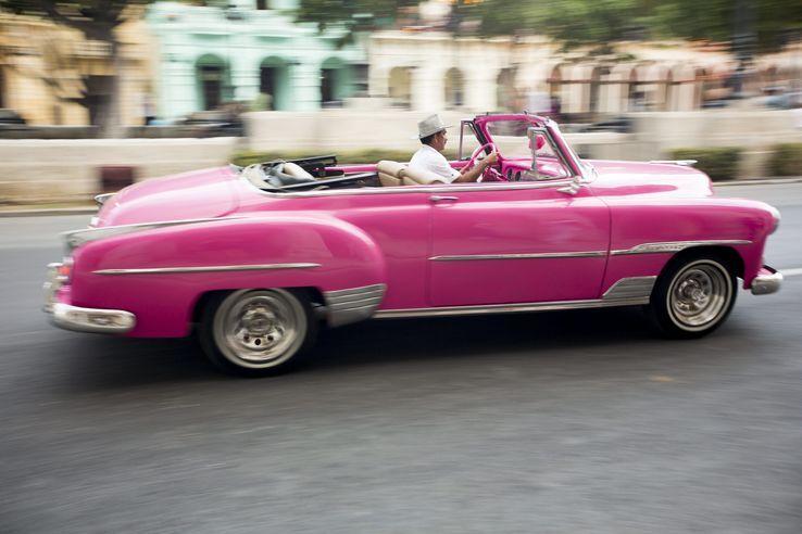 Manifestation organisée par une entreprise de luxe à la Havane en mai 2016