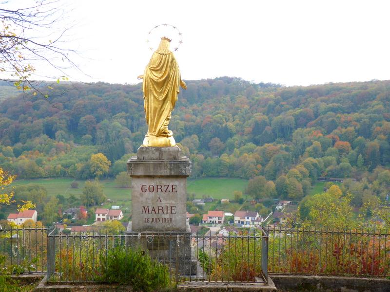 La Vierge Dorée  de Gorze