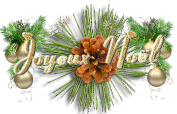 ♥♥ Je vous souhaite  à toutes et tous un Joyeux Noêl ...♥♥