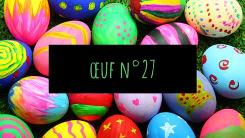 Oeuf n°27