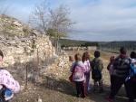 Visite de l'exploitation ovine de la maman de Mathilde