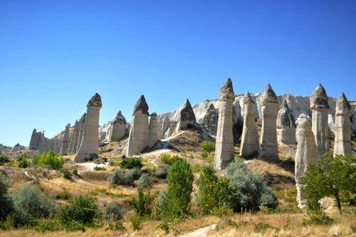 Les grottes de Cappadoce