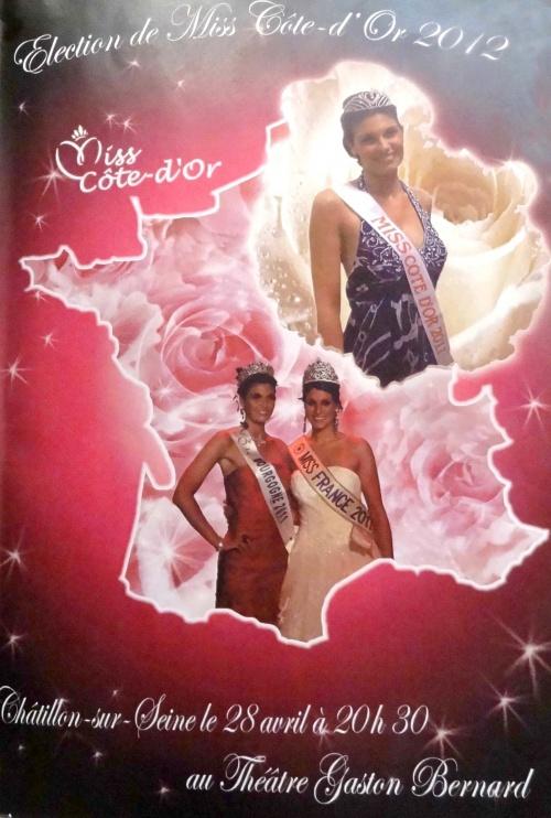 L'élection de Miss Côte d'Or se prépare à Châtillon sur Seine..