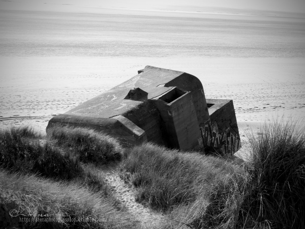 Blockhaus sur la plage