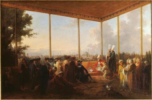 Une collection de canapés au 18e siècle
