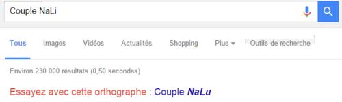 [NaLu] Même Google est pour le NaLu ! D8