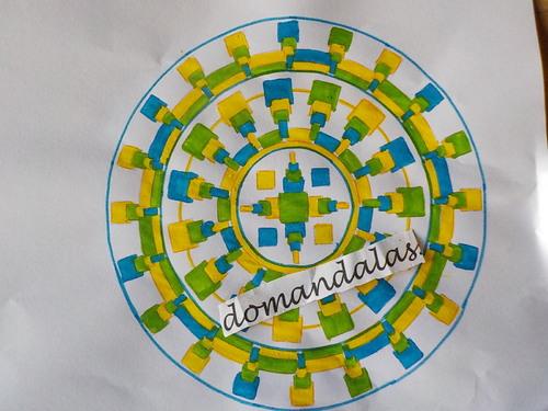 DOMANDALAS mandalas 2 variations sur le même thème