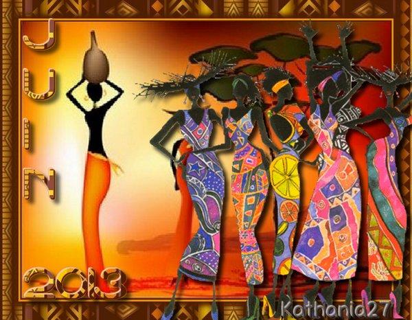 Tutoriel de Manany et defi couleur du mois