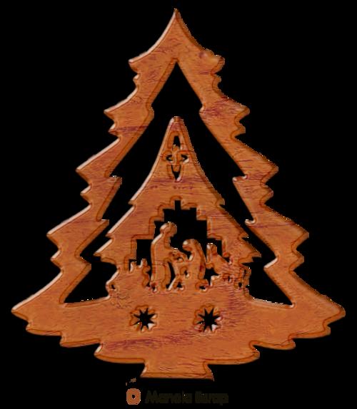 Sapins de bois