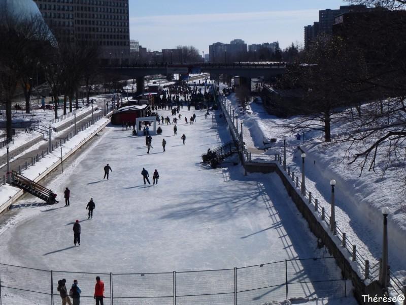 Ottawa le canal rideau
