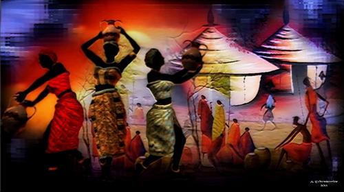 Village en Afrique