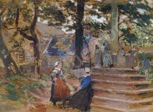 royer-henri-paul-1869-1938-fra-conversation-devant-st-tugen