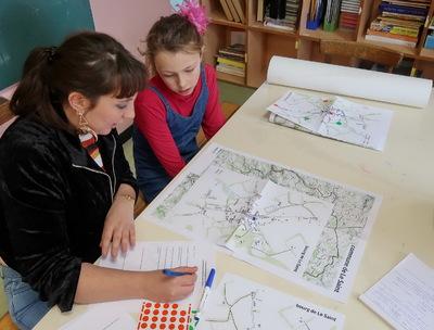 Sociotopes et pratiques des enfants dans une commune rurale (suite)