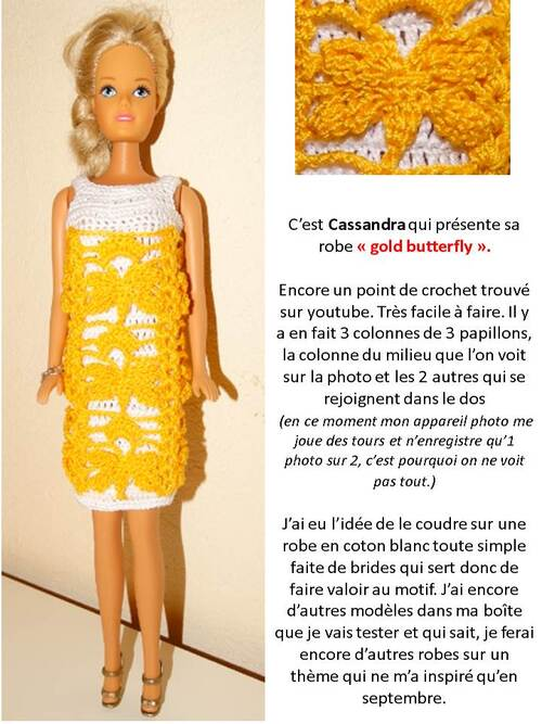 Créations -stylistes 2017 : aérienne robe Papillon (10) prolongations...
