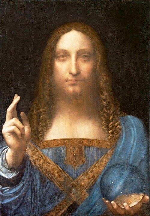 Le Christ de Léonard de Vinci...