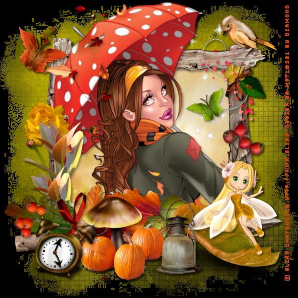 "Tutoriel ""Autumn Fairyland"" par Immortal Lady"