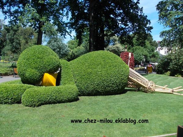 Claude Ponti au Jardin des plantes à Nantes - Chez Milou