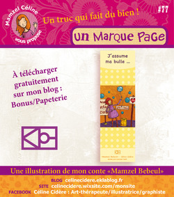 PAPETERIE BEBEUL / MARQUE PAGE
