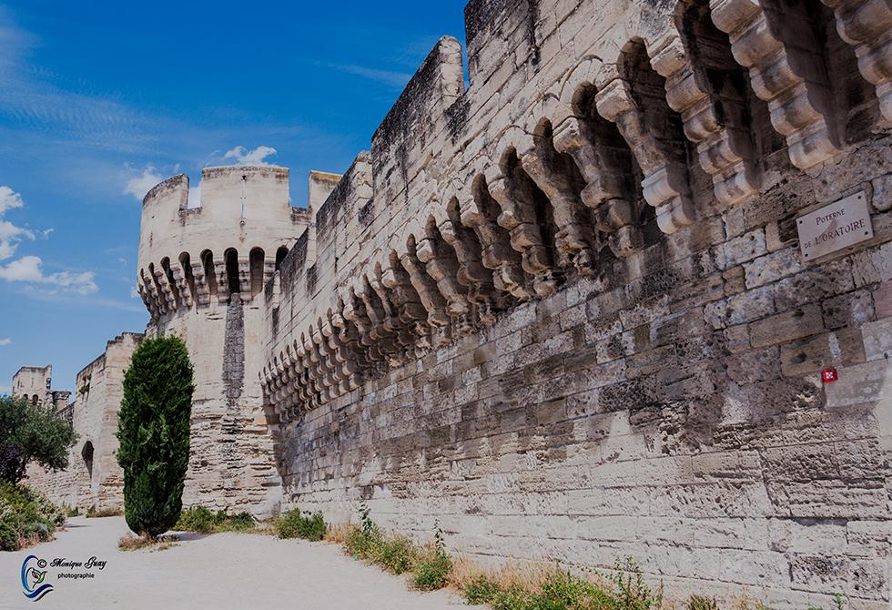 Remparts d'Avignon: TROIS PHOTOS