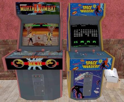 Bornes de jeux d'arcade