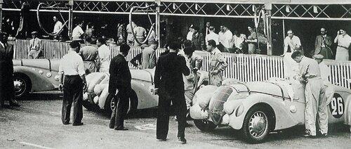 Peugeot au Mans