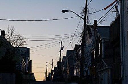 poteaux electriques USA