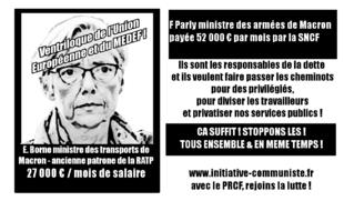 #CETA #AffaireDeRugy , la nomination de Borne, Tatcher française destructrice de la SNCF, preuves de la politique anti écologie du régime Macron (IC.fr-17/07/19).