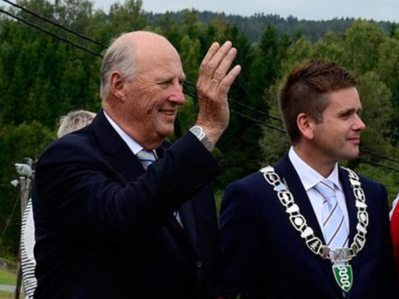 Le roi à Hobøl et Våler
