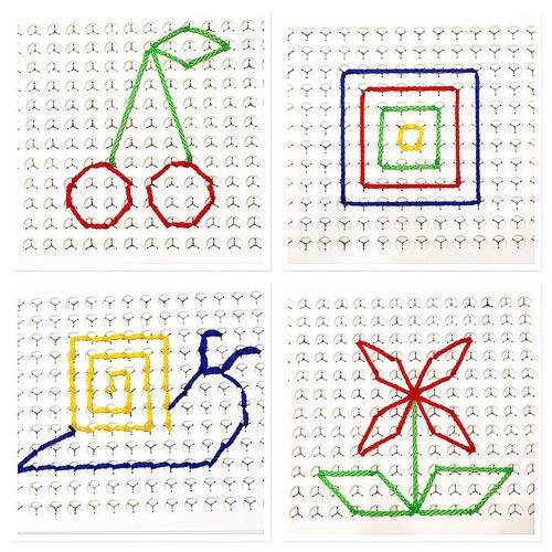 Modèles Pic fil, atelier fil à dessiner