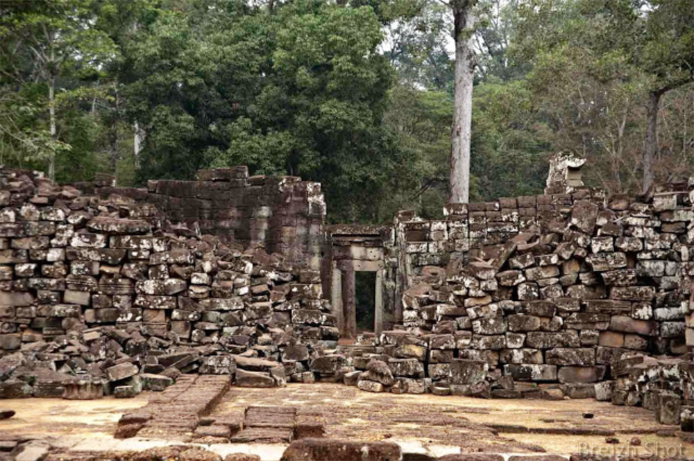 Angkor Thom, ruines du Bayon