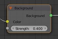 Ajuster le node Background sur 0.400