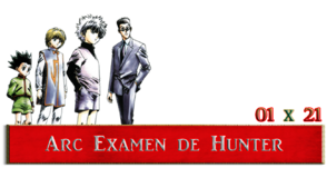 ARC EXAMEN DE HUNTER