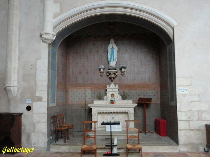 Cangey:Eglise Saint MArtin-2