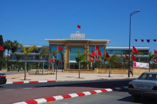 Un bâtiment public de Kénitra