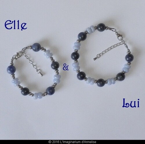 Bracelets pour elle et lui
