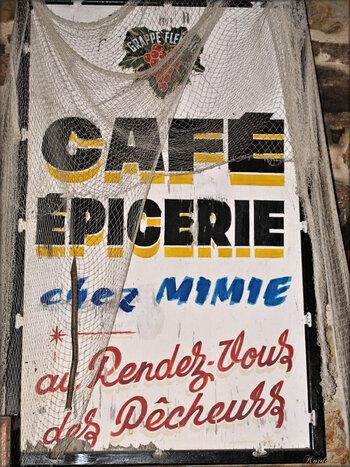 Café, épicerie, buvette (vieux métiers d'Argol)