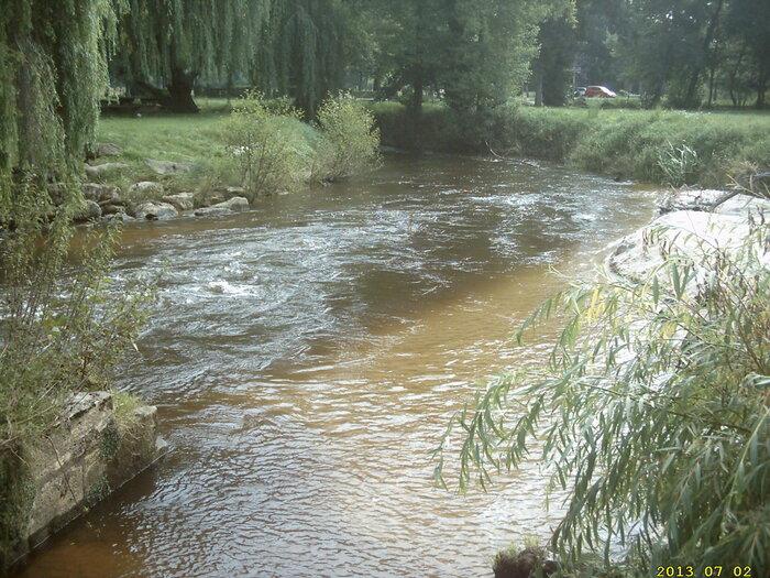 le Ciron (une petite rivière de Gironde)