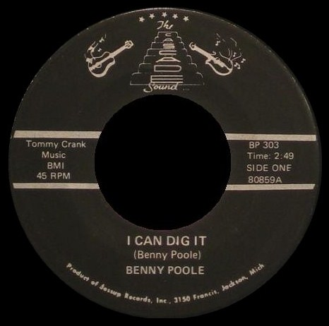 Benny Poole - I Can Dig It