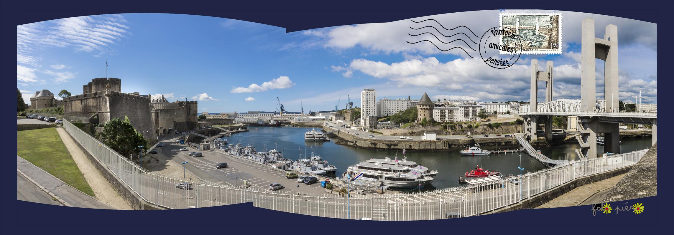 Brest - Finistère - août 2015