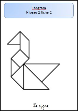 Fiche maternelle tangram