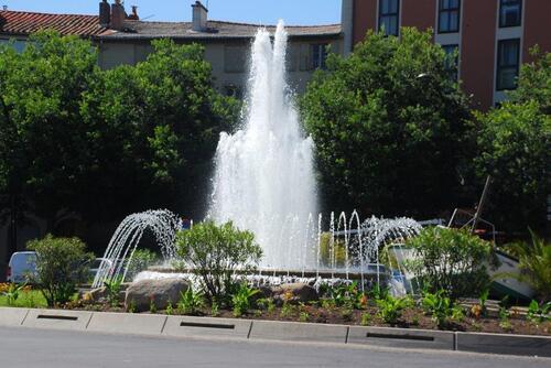 Une place de Millau
