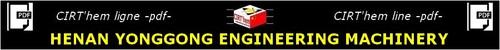 TECHNICAL LINE -PDF-: HENAN YONGGONG ENGINEERING MACHINERY.