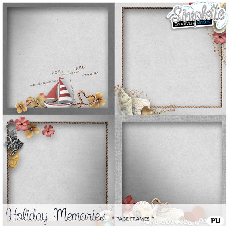 31 août : Holiday Memories Simpl453