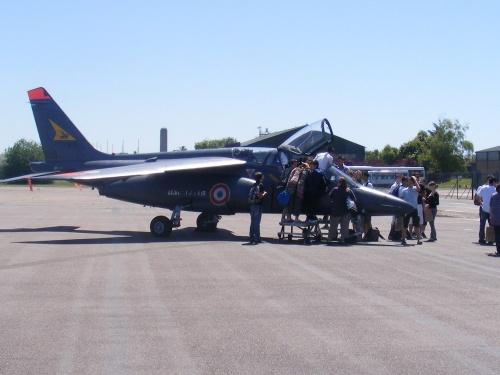 La visite de la base Aérienne 102