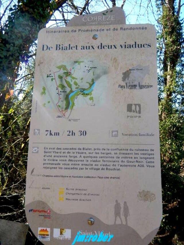 Idée de randonnée nature avec les cascades de Bialet 1/2