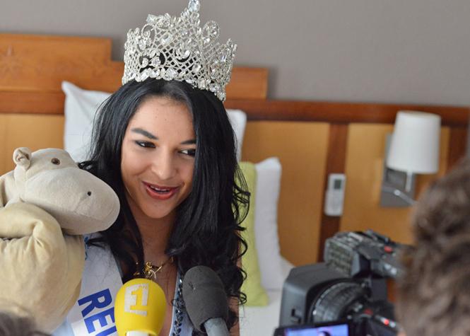 Retour en images du réveil de Miss Réunion 2015