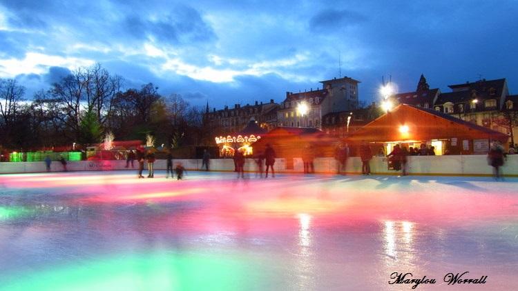 Au temps des marchés de Noël : Colmar Place Rapp